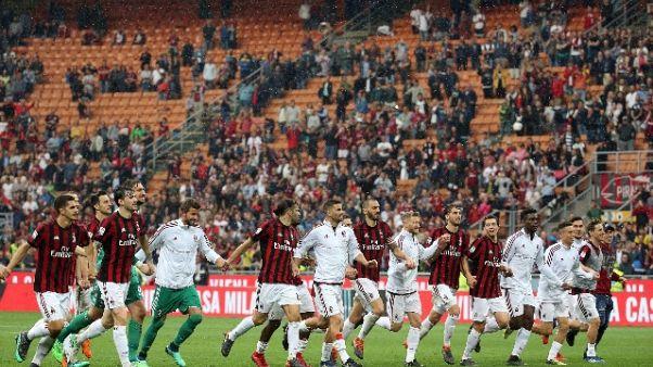 Uefa rinvia Milan a giudizio su conti