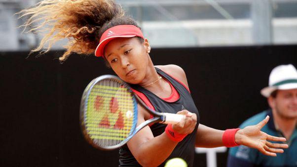 Tennis - Osaka on the climb, aiming high in Paris
