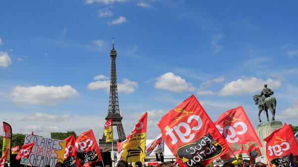 France's rail unions say workers overwhelmingly vote against reforms