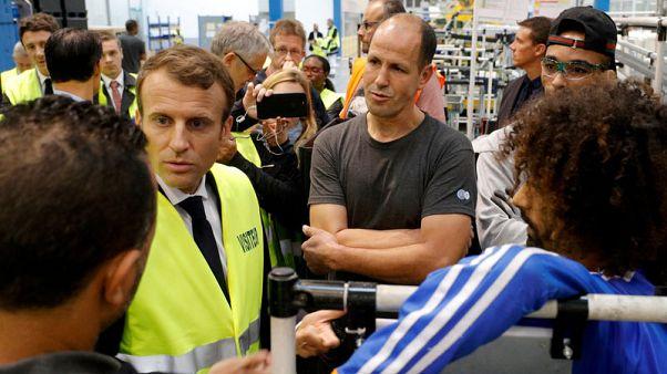 French unemployment edges up, dampening Macron's hopes