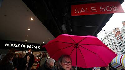 UK consumers return to shops after snowy start to 2018