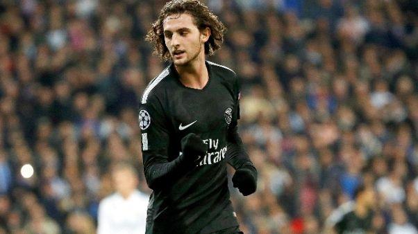 Francia, Rabiot 'no a riserva Mondiali'