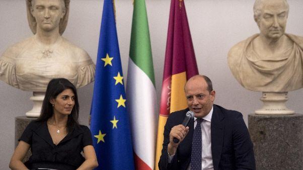 Stadio Roma:Raggi,è sviluppo sostenibile