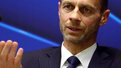 UEFA president hits out at Infantino plans to 'sell soul' of game