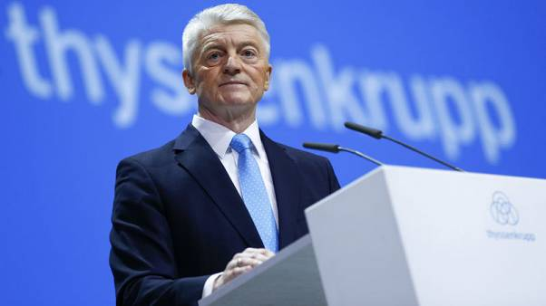 Thyssenkrupp CEO feels heat after investor vote of no confidence