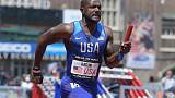 Gatlin out of Oregon meeting with hamstring injury