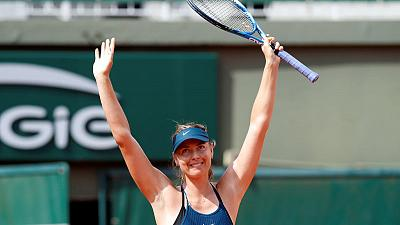 Sharapova anticipates return to the limelight in Paris
