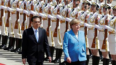 Germany's Merkel says China and Germany standing by Iran nuclear deal