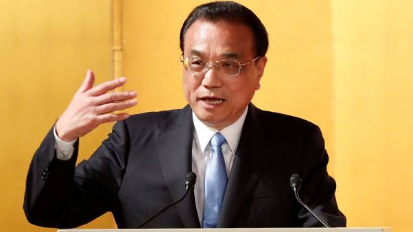 China's Li says hopes to talk with Germany about human rights on equal basis