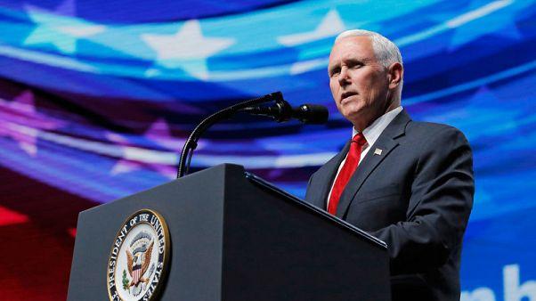 U.S. will respond rapidly to Venezuela's expulsion of U.S. diplomats - Pence