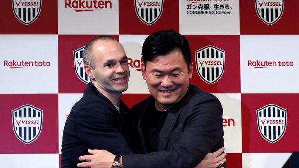 Iniesta begins new chapter at J.League's Kobe