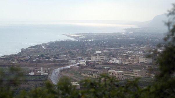 عاصفة مدارية تضرب محافظة سقطرى اليمنية وإعلان حالة طوارئ