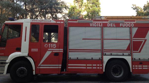 Grave incendio alla Pakfrut di Cesena