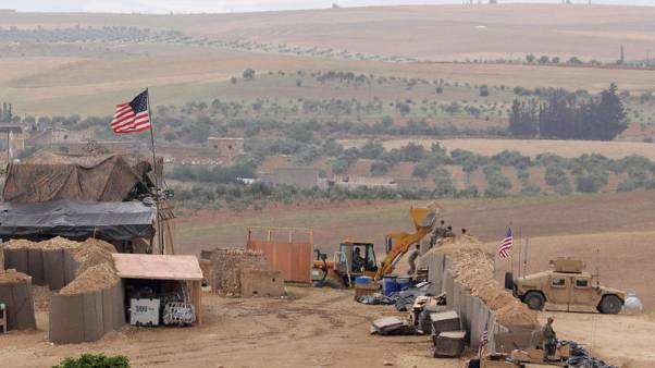 U.S. says in talks with Turkey on YPG withdrawal from Syria's Manbij