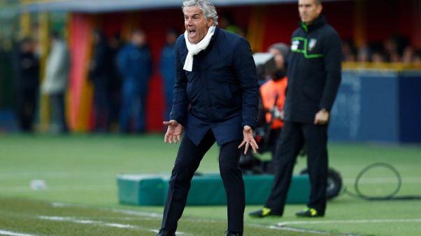 Italian soccer club Bologna sack coach Donadoni - Italian media