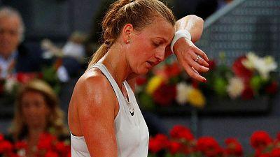 Tennis star Kvitova's 2016 knife attacker in custody - reports