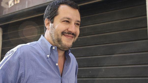Salvini, a Conte onere e onore fare nomi
