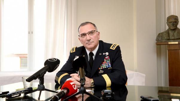 U.S. top commander in Europe wants more resources, forces to deter Russia