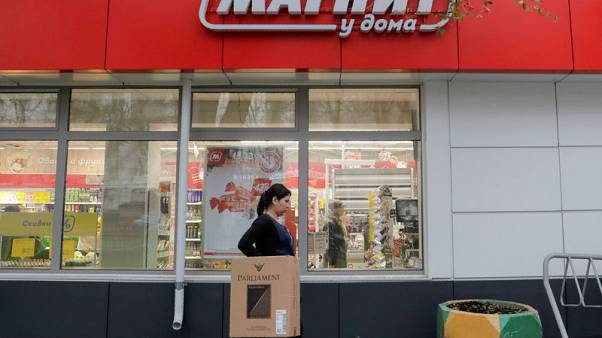 Russia's VTB sells part of stake in retail chain Magnit for $1 billion