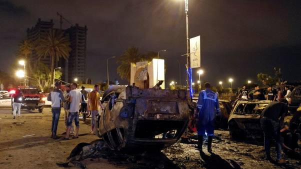 At least seven killed by car bomb in Benghazi, Libya