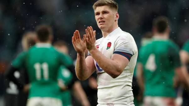 England skipper Farrell relishing added responsibility