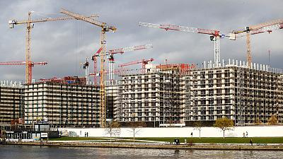 Investment in construction drives German growth in first quarter