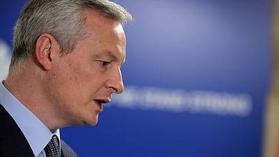 France, Germany work on roadmap on future of euro zone - Le Maire