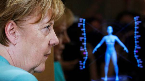 Merkel calls for Germany and China to regear relations for digital era