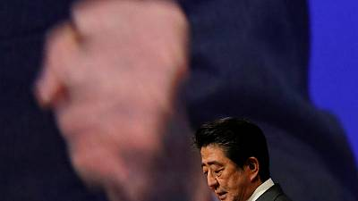 Japan's Abe: need peace treaty with Russia to promote economic cooperation