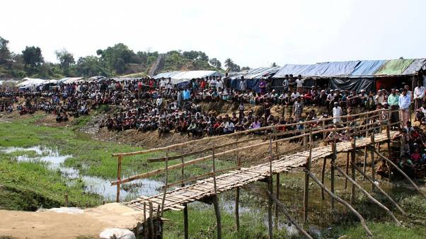 Bangladesh PM urges India to put pressure on Myanmar to take back Rohingya