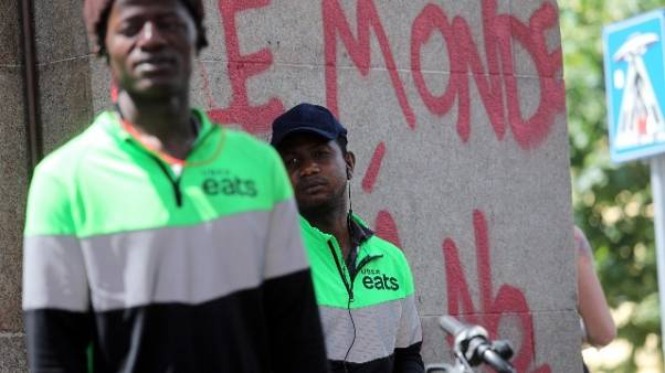 A Milano sciopero dei riders
