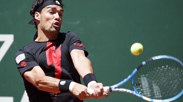 Open Ginevra: stop Fognini in semifinale
