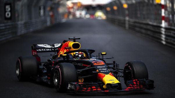 F1:Monaco,Ricciardo vola in 3/e libere