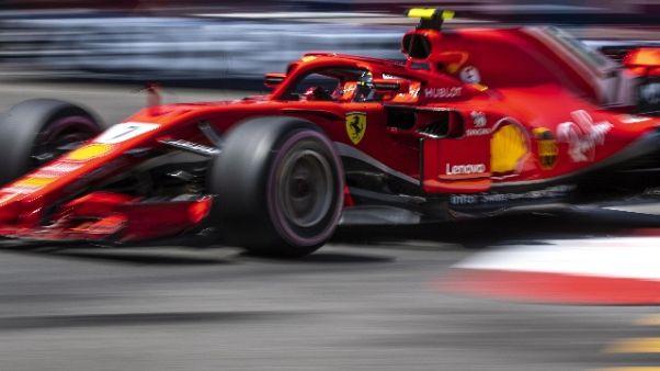 F1: Raikkonen, faticato con le gomme