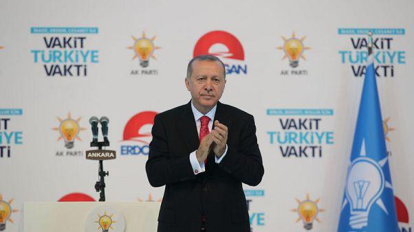 إردوغان: تركيا وروسيا تتفقان على خصم 10.25% في سعر الغاز الطبيعي