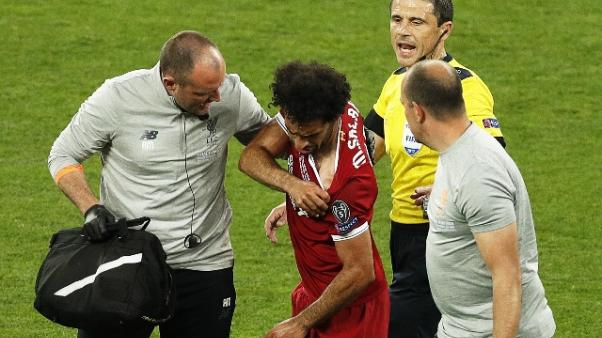 "Klopp, infortunio di Salah ""è serio"""