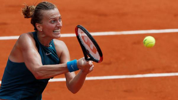 Kvitova proves to be ultimate survivor as she lives to fight another day