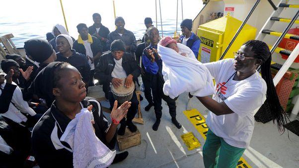 """مولد """"معجزة"""" على متن إحدى سفن الإنقاذ في البحر المتوسط"""