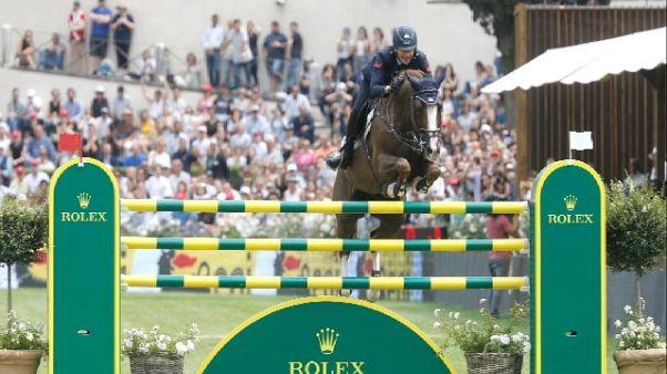 Equitazione: De Luca vince GP Roma