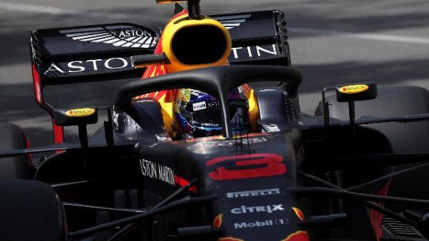 F1: Monaco, Ricciardo scatta in testa