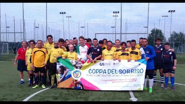 Calcio: 9/a edizione 'Coppa del Sorriso'
