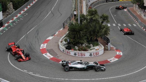 F1:Ricciardo vince Gp Monaco, Vettel 2/o