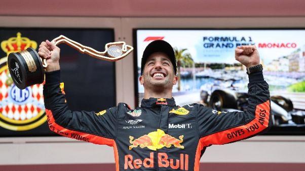 Ricciardo, preparavo vittoria da 2 anni