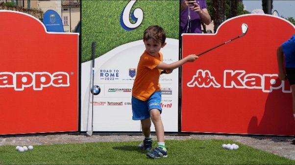 'Golf in piazza', in 8mila a Desenzano