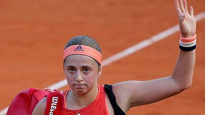 Champion Ostapenko dumped in round one of French Open