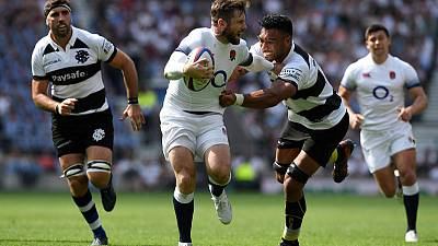 England suffer heavy loss to inspired Barbarians