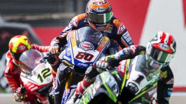 Superbike, vince ancora Van der Mark