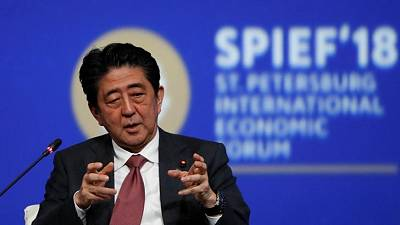 PM Abe says Japan automakers contributing to U.S. economy