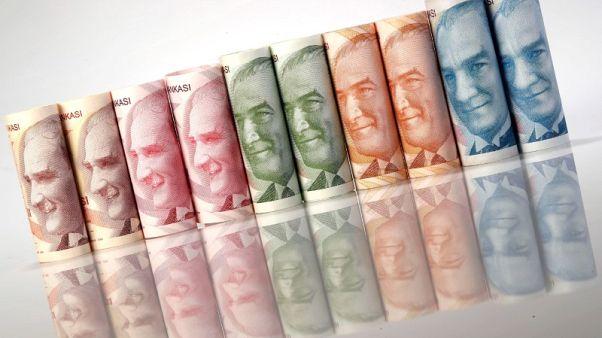 الليرة التركية ترتفع إلى 4.67 مقابل الدولار