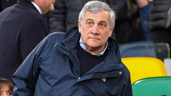 Tajani, 'scudetti Juve sono 36'